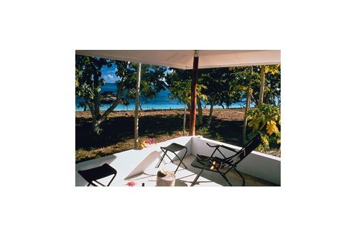 Sandy Beach Resort pohled z bungalovu