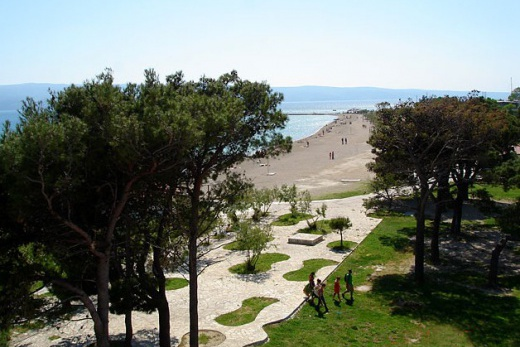 Plaža hotel Omiš