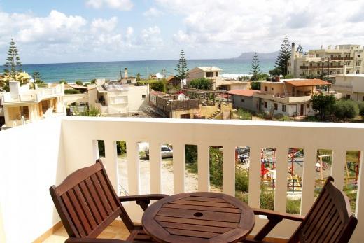 Luxusní posezení na balkoně