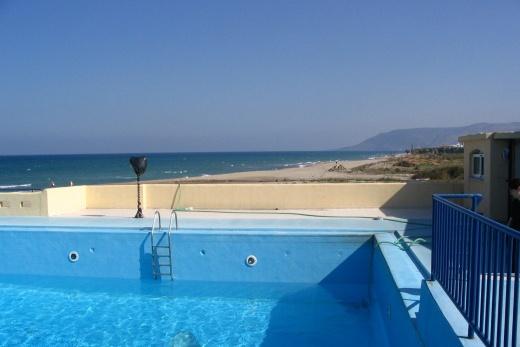 jeden ze dvou bazénů