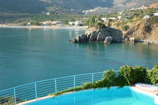 Nádherný pohled z vašeho balkonu