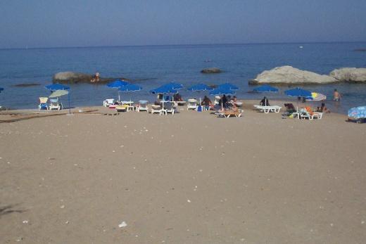 Píseční pláž ideální pro všechny - děti,plavce, neplavce i potápěče