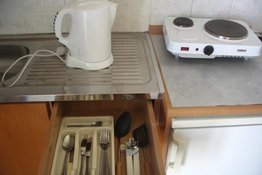 Detail vybavení kuchyňského koutu