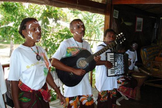 Sakatia Passion místní kapela