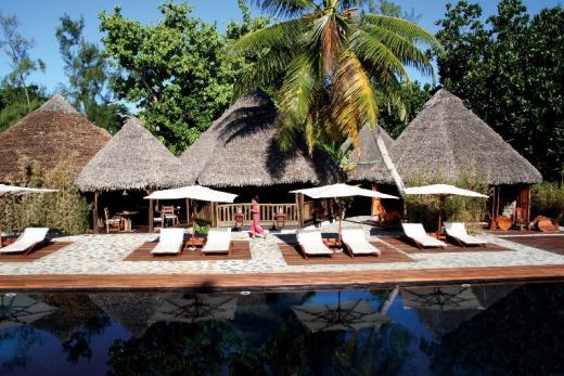 Princesse Bora Lodge bazén