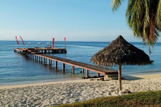 Princesse Bora Lodge pláž