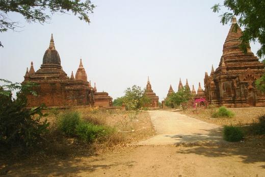 Program poznávacího zájezdu pagody v Baganu