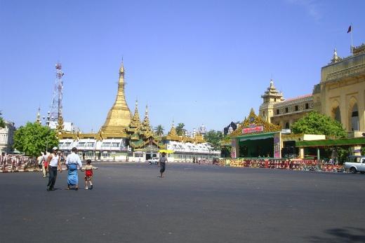 Program poznávacího zájezdu Yangon