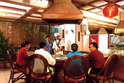 Holiday Villa Langkawi čínská restaurace