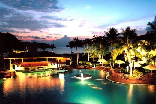 Holiday Villa Langkawi západ slunce