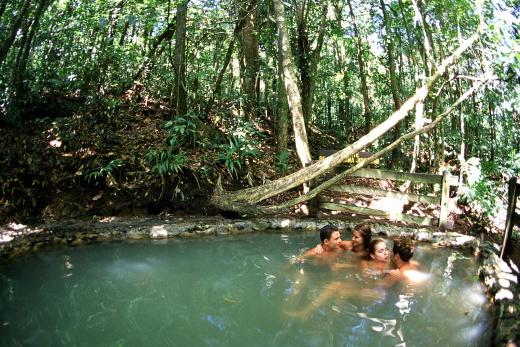 Occidental El Tucano and Spa přírodní termální bazén