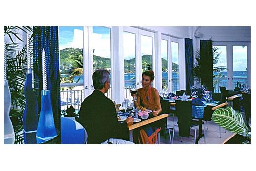 Carina Bay Resort restaurace