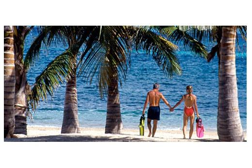 Carina Bay Resort pláž