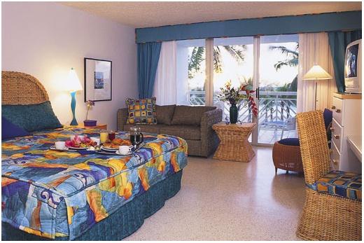Carina Bay Resort standardní pokoj