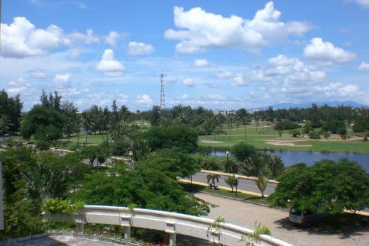 Foto Vietnam - Phan Thiet - Novotel pokoj s výhledem na golfové hřiště
