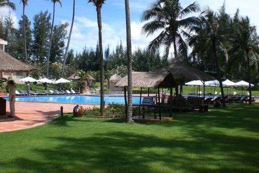 Foto Vietnam - Phan Thiet - Novotel zahrada s bazénem