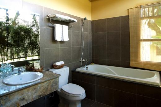 Foto Vietnam - Romana resort - koupelna