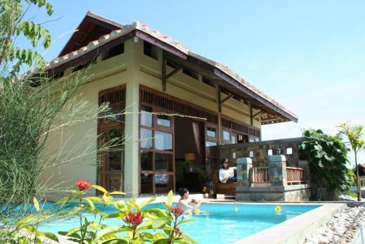 Foto Vietnam - Romana resort bungalovy s privátním bazénem