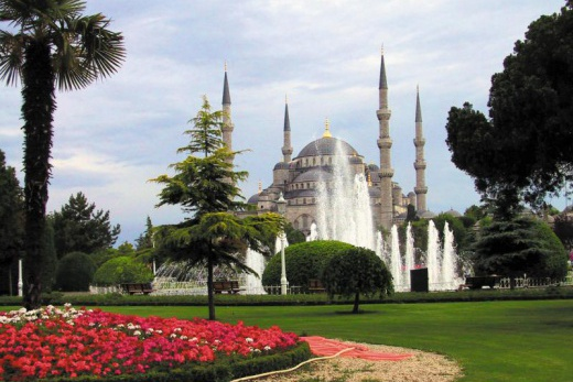 Pobyt v Turecku a okruh Tureckem