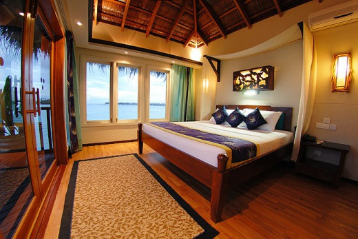 Cinnamon Island Dhonveli - vodní bungalovy
