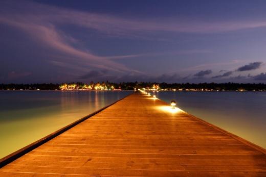 Sun Island Resort & Spa - vodní bungalovy