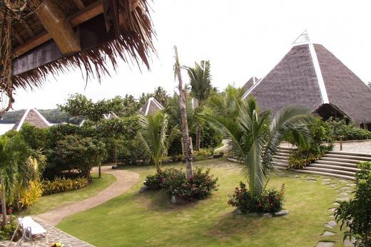 Pangalo Island Resort zahrada