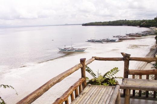 Pangalo Island Resort vyhled z verandy