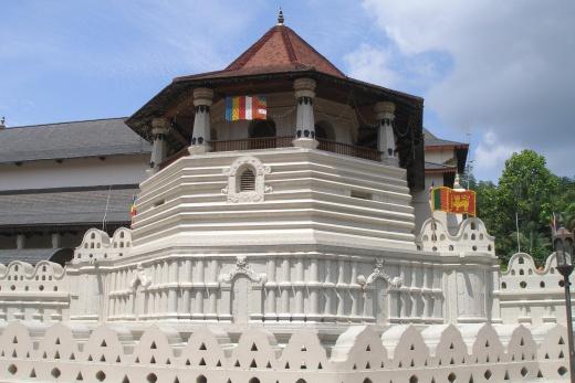 Srdce Srí Lanky + pobyt u moře