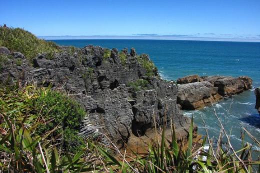 Nový Zéland - Palačinkové skály