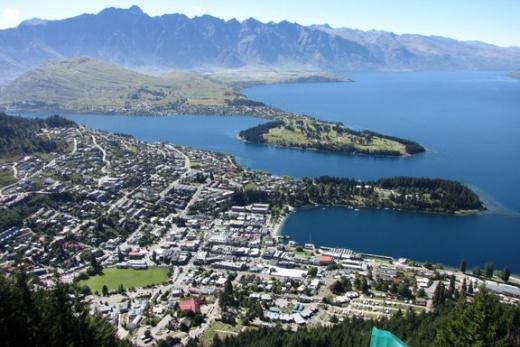 Nový Zéland - Queenston