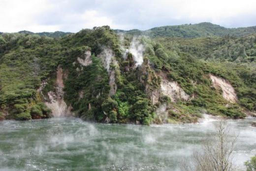 Nový Zéland - Rotorua