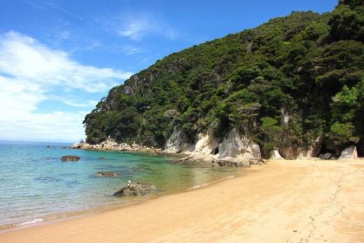 Pláž na Jižním ostrově