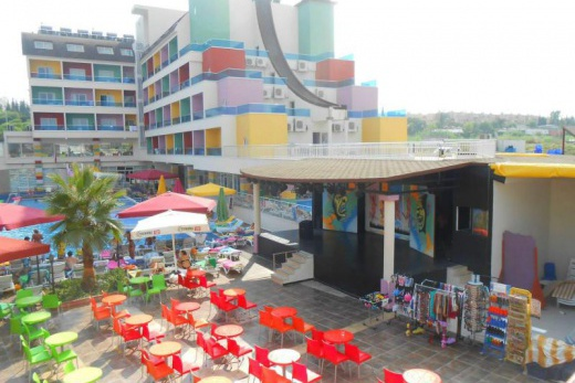 Hotel Blue Paradise Side