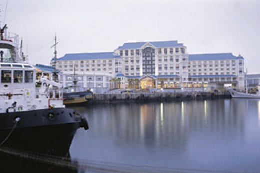 Table Bay Hotel pohled