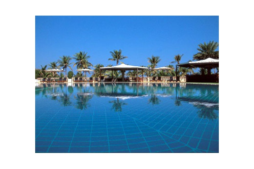 Al Bustan Palace bazén