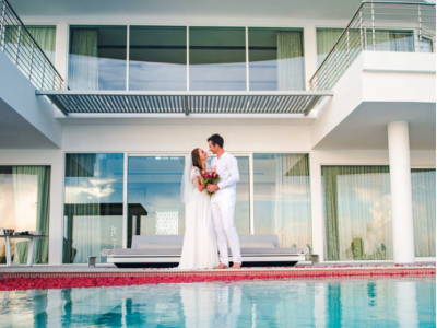 Svatba na Maledivách